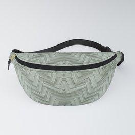 Basket Weave Pattern Fanny Pack
