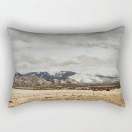 Great Sand Dunes National Park - Mountains II Rectangular Pillow