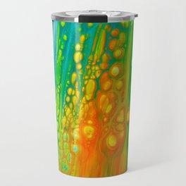 Aqua orange Travel Mug