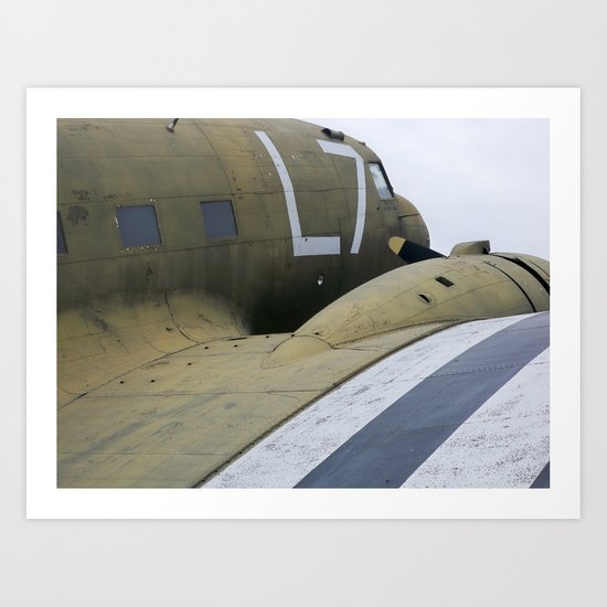 War Plane Art Print