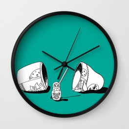 Matricide Wall Clock