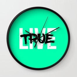 Live True Wall Clock