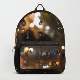 Rainy Night City Backpack