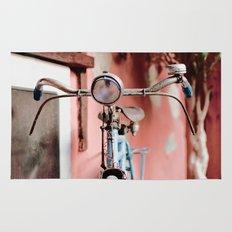 Vintage bicycle Rug
