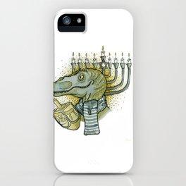 Hanukkah Dino iPhone Case