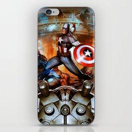 captain war iPhone Skin