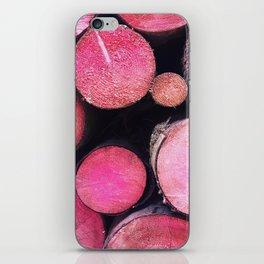 pink trunks iPhone Skin