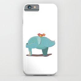 Yoga Elephant Pose iPhone Case