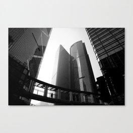 Hong Kong Architecture Canvas Print