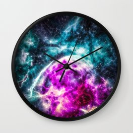 Colossal Heart of the Galaxy Wall Clock