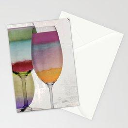 Prism Wine Stationery Cards
