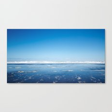 The end of the earth. Canvas Print