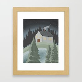 Place to Be Framed Art Print