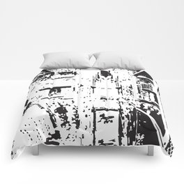 City View - Black & White Comforters