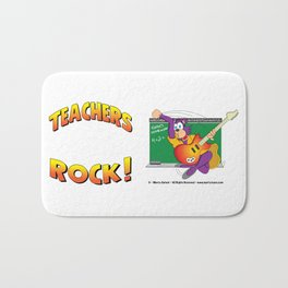 TEACHERS ROCK Side by Side Bath Mat