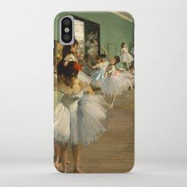 "Edgar Degas ""The dance class"" iPhone Case"