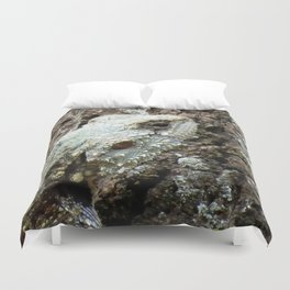 Plated Lizard Duvet Cover