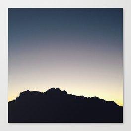 Sunrise, Superstition Mountains Canvas Print