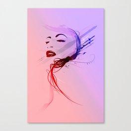 Headflux Canvas Print
