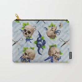 Blue Is Bleeding Through Carry-All Pouch