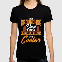 Woodchuck Groundhog Spring Prediction Groundhog Day Gift T-shirt