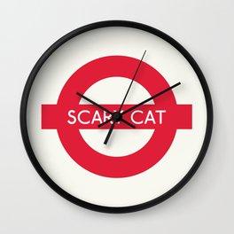 Scary Cat   TFL Wall Clock