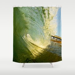 Glassy Daze Shower Curtain