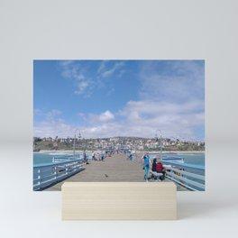 San Clemente Pier Mini Art Print