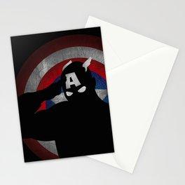 SuperHeroes Shadows : Captain America Stationery Cards