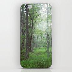 Foggy Forest Landscape Photo iPhone & iPod Skin