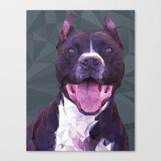 Boss Dog Canvas Print