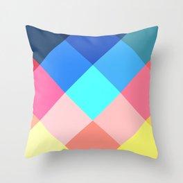 Kaleidoscope of a Sparkle in a Diamond Throw Pillow