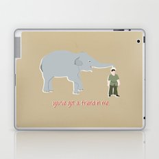 Elephant Friends Laptop & iPad Skin