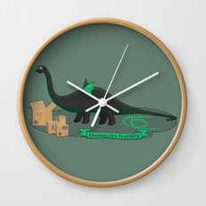 Dinosaur cosplay Wall Clock