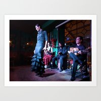 Flamenco, Buenos Aires  Art Print
