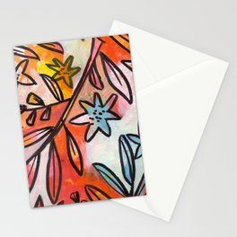 Painted Jungle 2 Stationery Cards