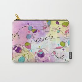 Flourish: Play. Create. Laugh. Carry-All Pouch