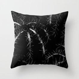 Golden Barrel Cactus Throw Pillow