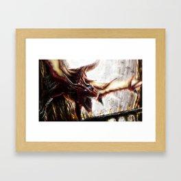 The Dragon Race Framed Art Print