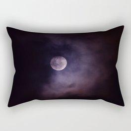 Shadow Moon Rectangular Pillow