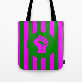 woman feminist logo Tote Bag