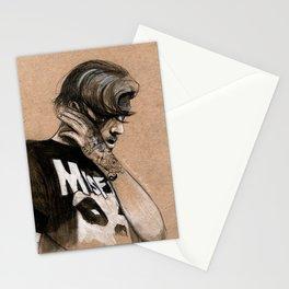 Zayn Charcoal sketch Stationery Cards