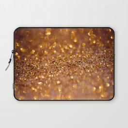 Golden glitter #society6 Laptop Sleeve