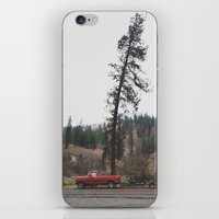 truck iPhone & iPod Skins featuring Tree Truck by Kevin Russ
