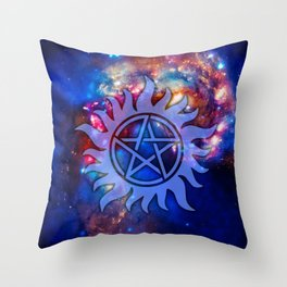 Supernatural Cosmos Throw Pillow