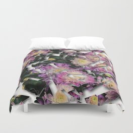 Shattered Floral Duvet Cover