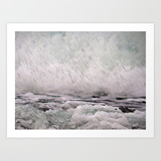 Under the Crashing Wave Art Print