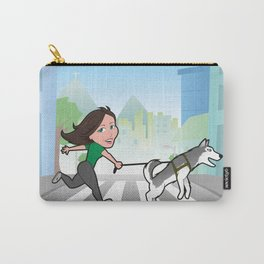 Walking with my dog Carry-All Pouch
