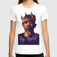 kendrick lamar T-shirts featuring King Kendrick by GerritakaJey