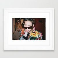 shinee Framed Art Prints featuring Jonghyun - SHINee by Felicia